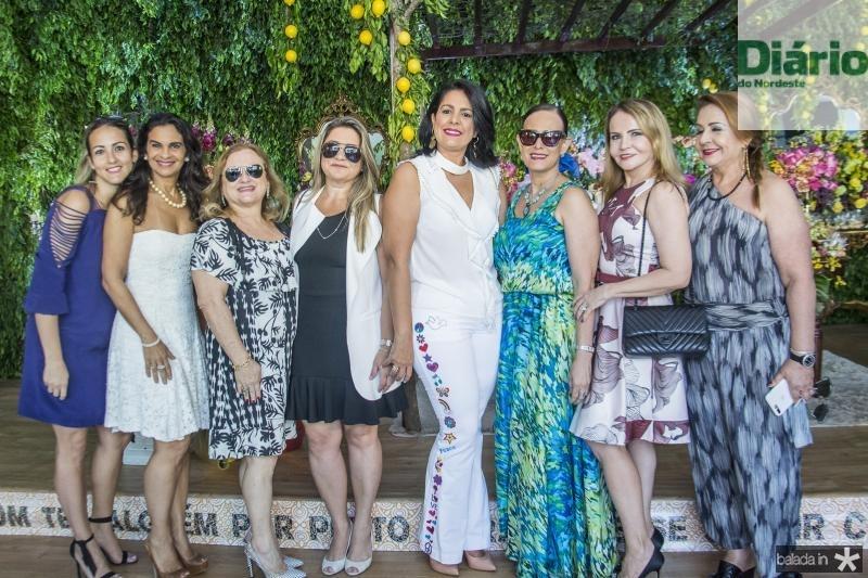 Karina Gurgel, Eliane Bacelar, Lucia Alencar, Cristina Aguiar, Anelise Barbosa, Casis Saldanha, Susana Gilka e Maria Gurgel