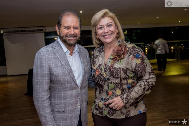 Guilherme Paulus e Priscila Cavalcante