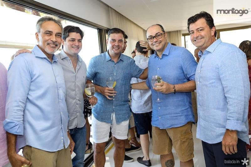 Paulo Angelim, Adriano Josino,  , Breno Câmara, e George