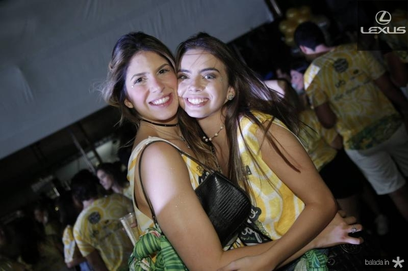 Ana Carolina Goyana e Nicole Marinho