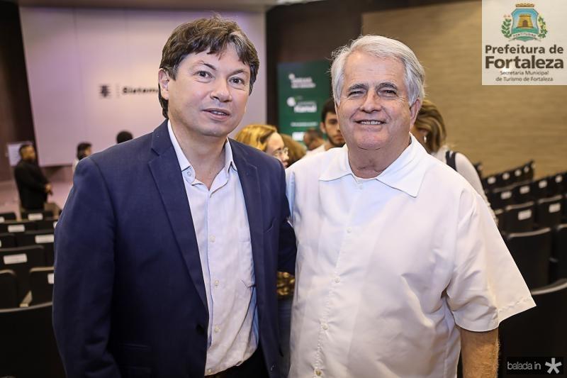 Edgar Gadelha e Jose Antunes