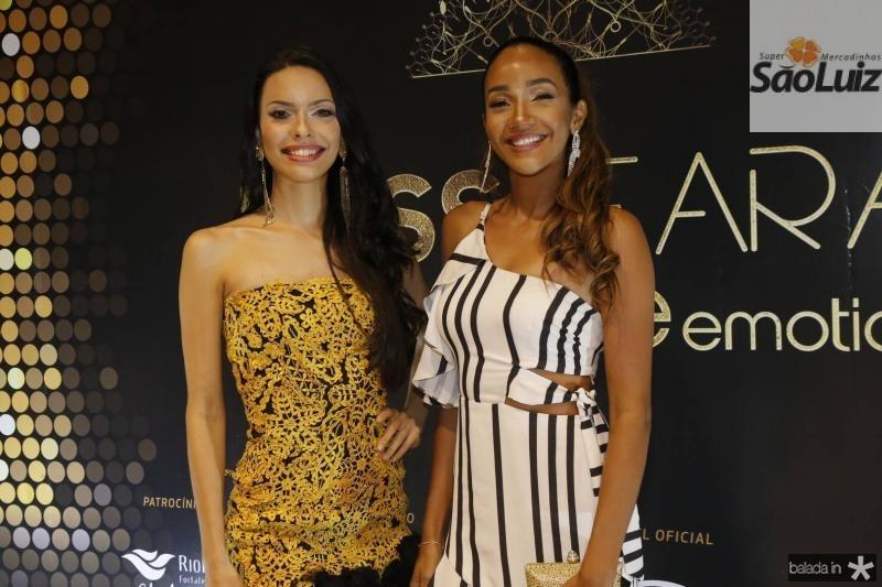 Helen de Lima e Tayssa Oliveira