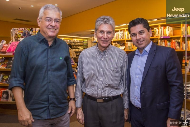 Paulo Cesar Noroes, Padua Lopes e Pompeu Vasconcelos
