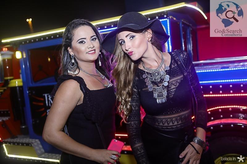 Naiana Albuquerque e Jessica Campos