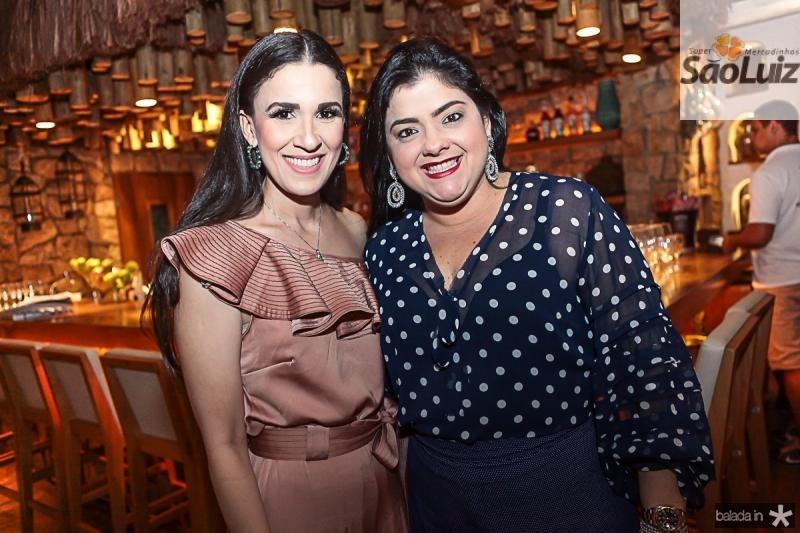 Giuliana Botelho e Viviane Almada