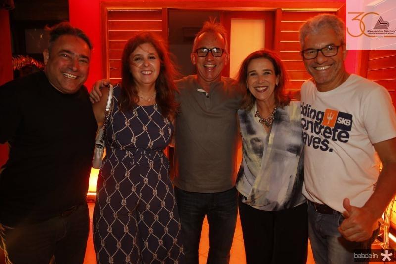Jose Walter e Valeria Mannarino, Cesar e Rosa Gioseph e Nelson Goncalves