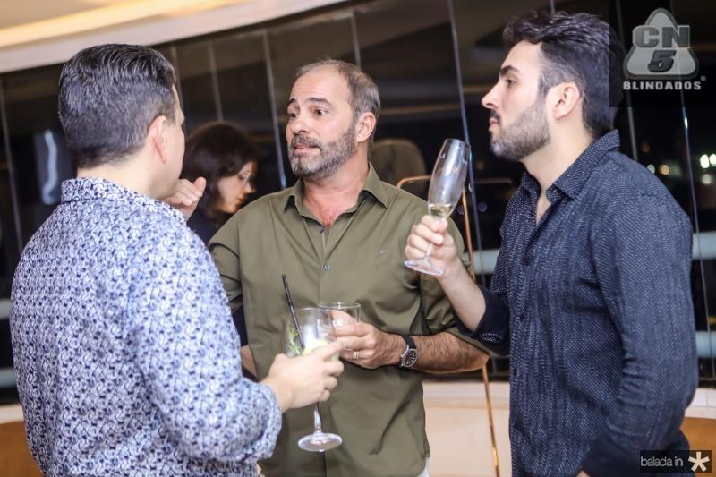 Abelardo Targino, Marcos Novais e Fernando Costa