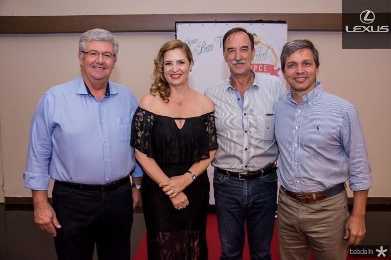 Carlos Maia, Enid Camara, Armando Abreu e Romulo Alexandre