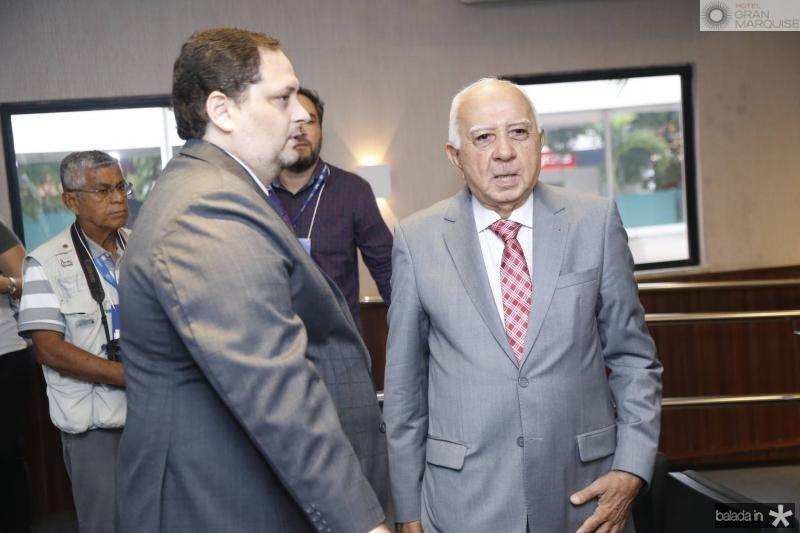 Reinaldo Salmito e Edson Silva
