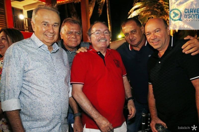 Rogerio Facanha, Jose Maria Lima, Bosco Pinheiro, Joao Alceu e Auricelio Parente