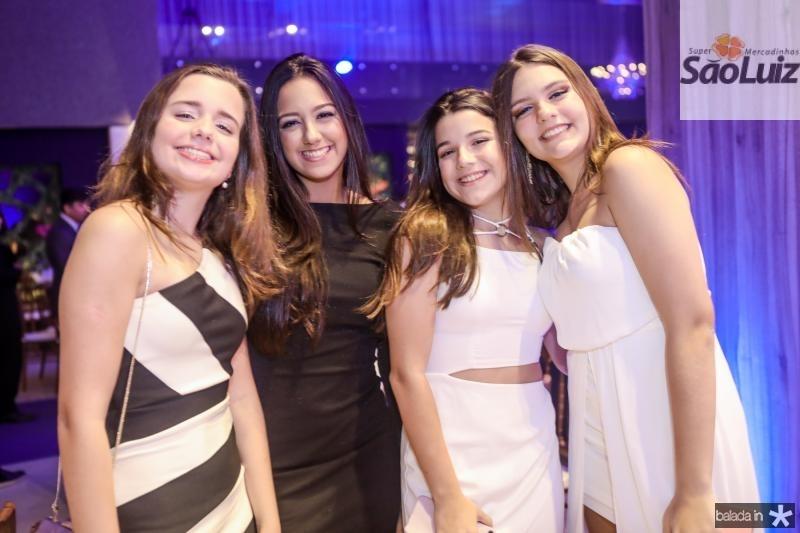 Beatriz Vicentine, Vitoria Alencar, Rafaela Cido e Leticia Macedo