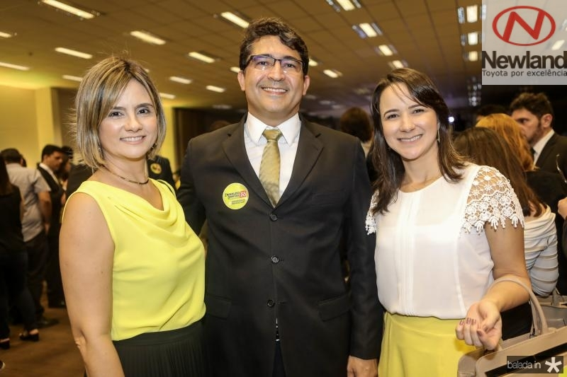 Ana Magalhaes, Fernando Mota e Arcenia Brekenfeld