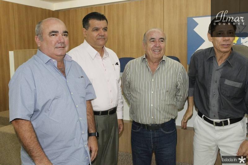 Roberto de Paula, Odmar Feitosa, Ubiratan Roberto e Rafael Abrantes