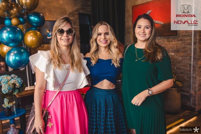 Liliane Chaves, Lohana Rios e Flora Camara