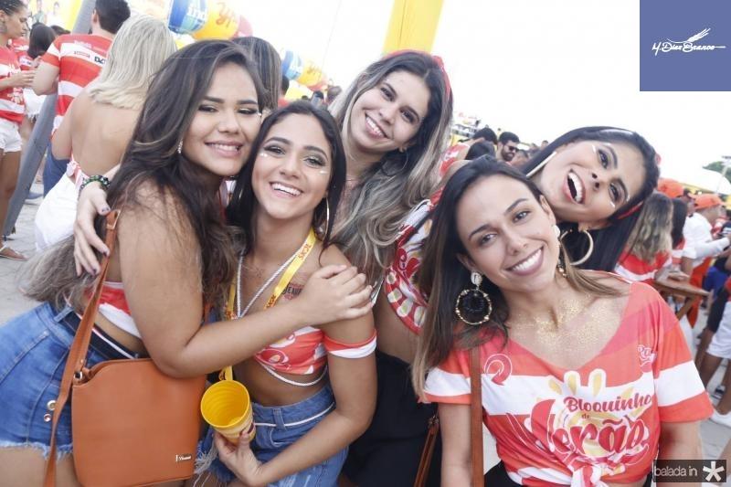 Idaline Sales, Fernanda Gomes, Lais e Luanna Mota e Jane Moraes