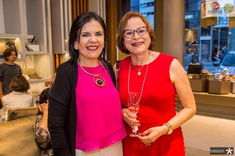 Samara Bonavi e Nubia Moreira