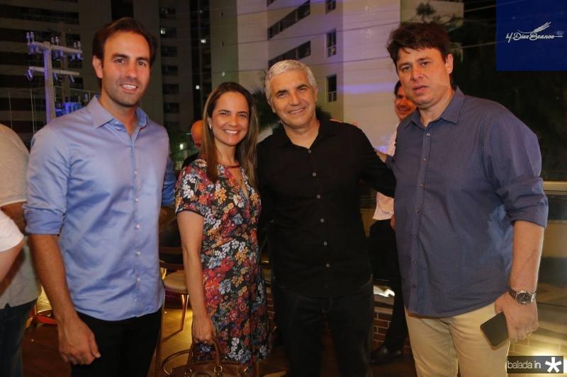 Vitor Frota, Josiane e Fabian Sales e Ricardo Ary