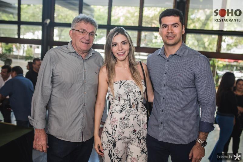 Mailson Cruz, Amanda Cruz e Ricardo Verner