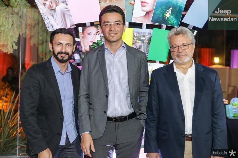 Francisco Custodio, Fernando Helio Brito e Ricardo Paiva