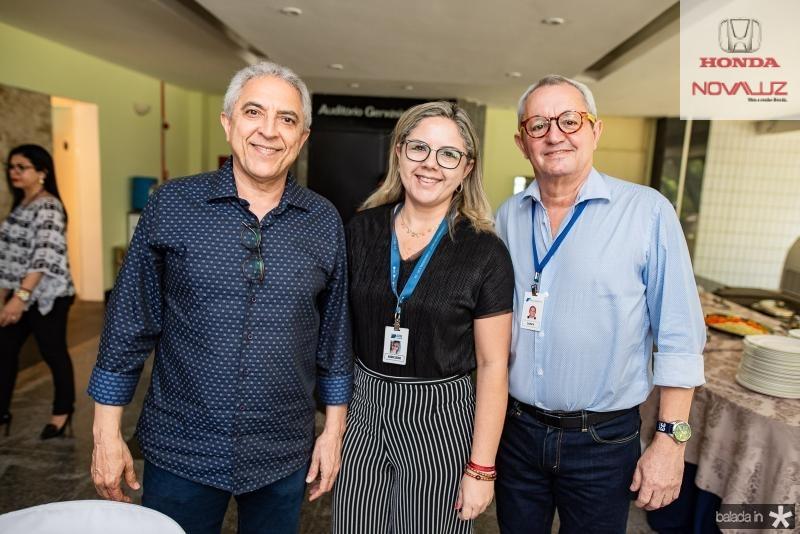 Jose Carlos Fortes, Auricleide Almeida e Lourenco da Mata