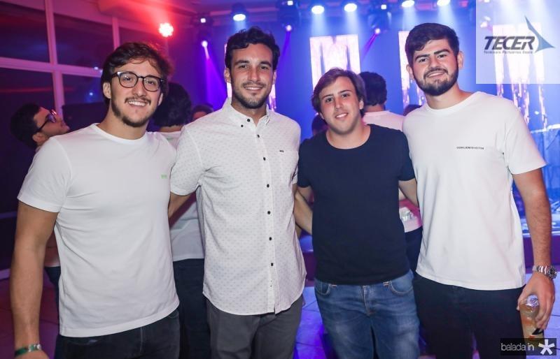 Igor Fernandes, Henrique Fanti, Rodrigo Bezerra e Michel Ferraz