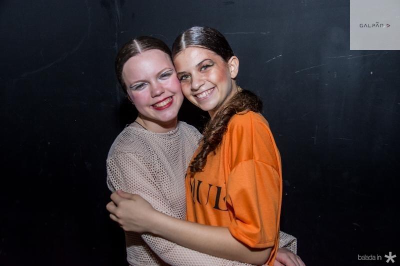 Manuela Collin e Camila Teles