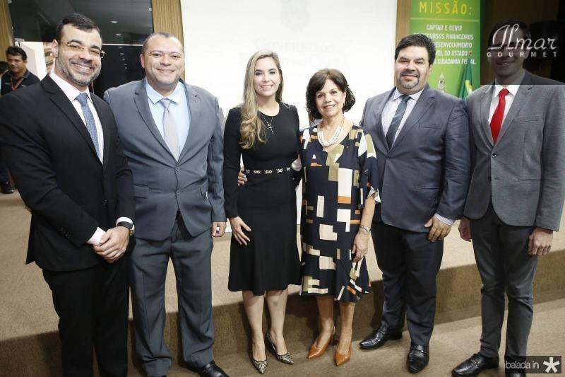 Bona Carneiro, Felix de Souza, Juliana Albuquerque, Candida Torres de Melo, Nartan Andrade e Lucas Germano