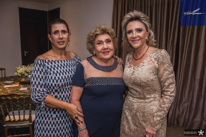 Regina Dias Branco, Consuelo Dias Branco e Graca da Escossia