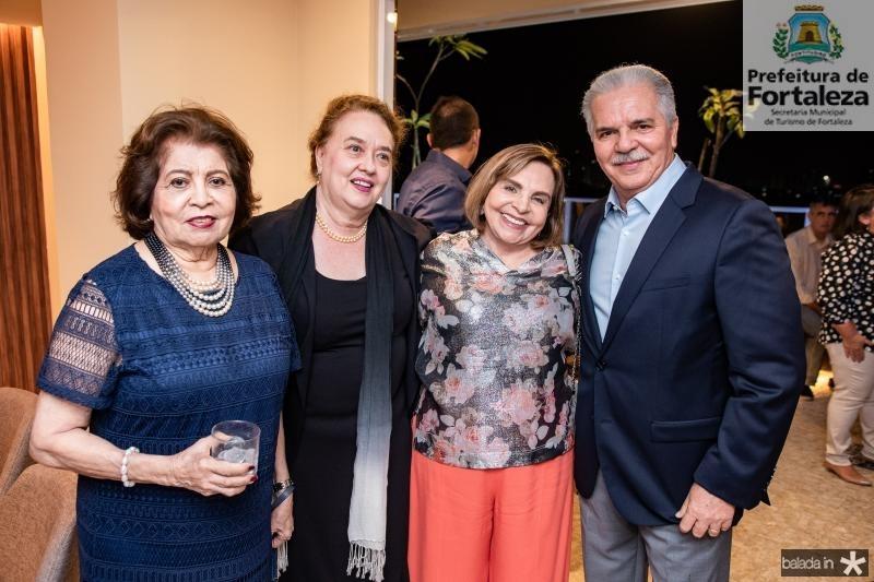 Edir Rolim, Sonia Araujo, Marise Rolim e Pio Rodrigues