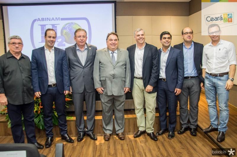 Roberto Parente, Cesar Ribeiro, Ricardo Cavalcante, Carlos Alberto Lancia, Lucas Ferianci, Queiroz Filho, Arthur Ferraz e Antonio Vidal