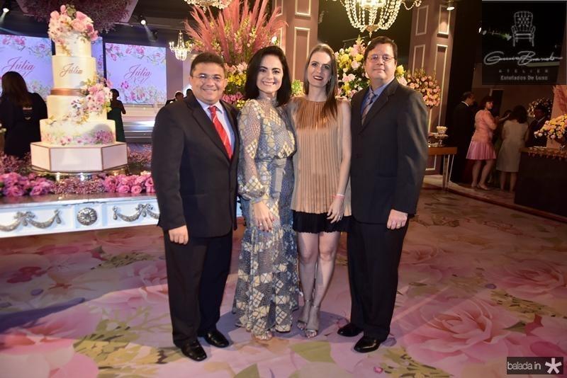 George Wilton, Marla Feijo, Angela Castelo, Teo Guanais