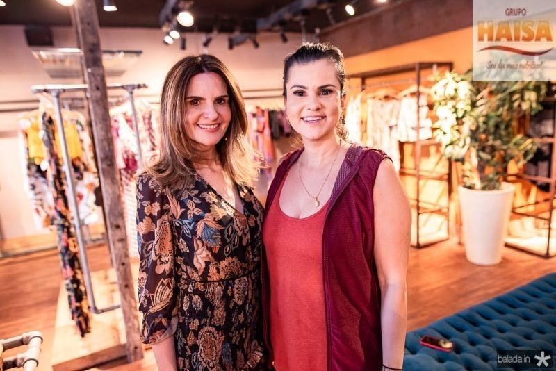 Viviane Bayma e Carine Moreira
