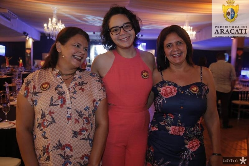 Cristina Gadelha, Vitoria Silvimo e Sandra Parente