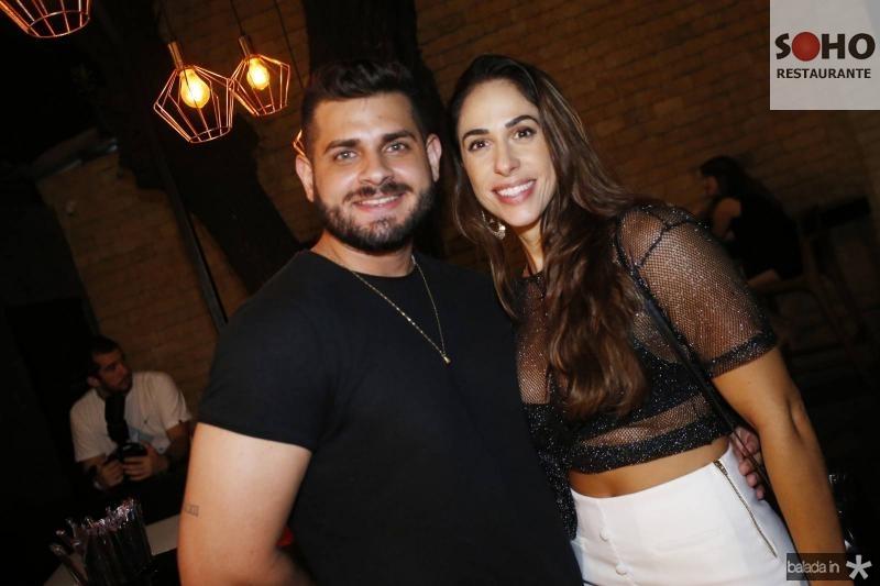 Davi Abdon e Lia Limaverde