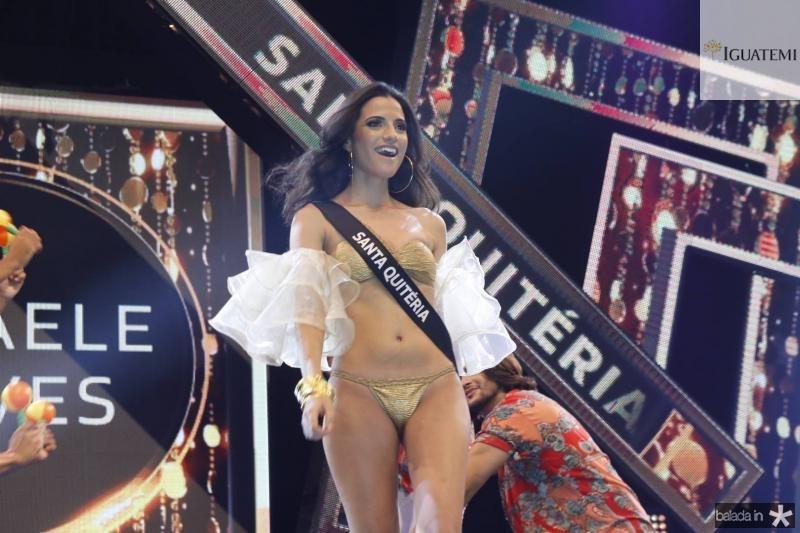 Miss Santa Quiteria Mikaele Alves