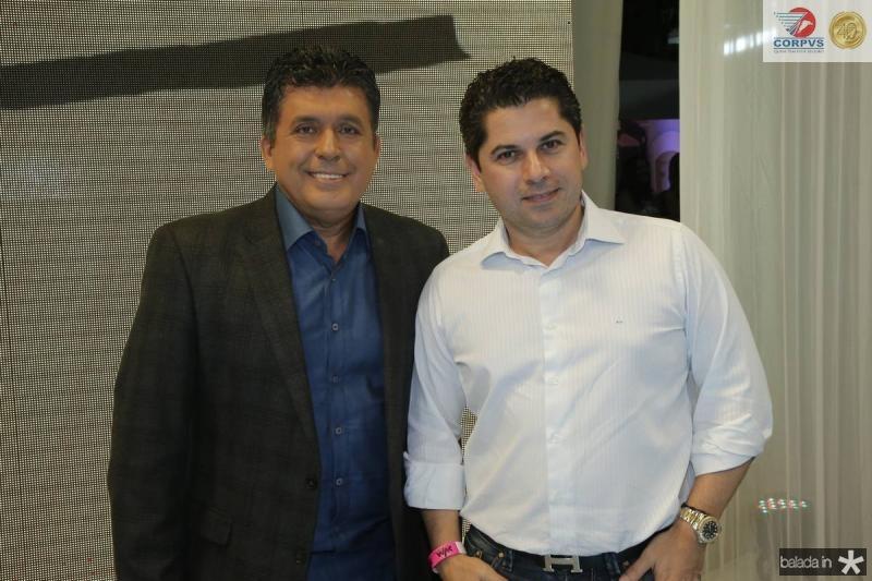 Tony Nunes e Pompeu Vasconcelos