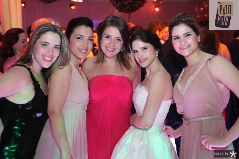 Joana Macedo, Daniele Linheiro, Marina Baquit, Marilia e Camile Quintao