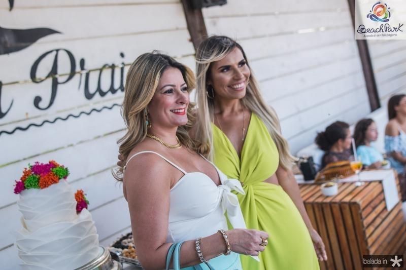 Tatiana Luna e Grazi Nogueira