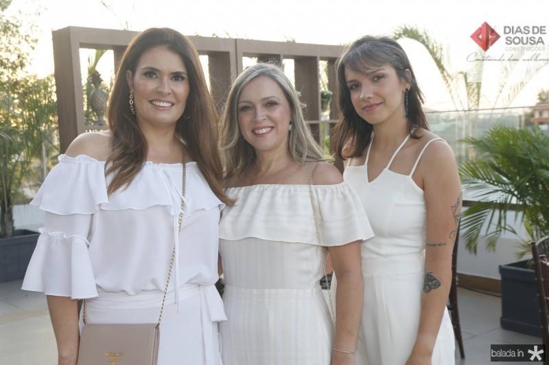 Nara Reboucas, Sandra e Isabella Alencar