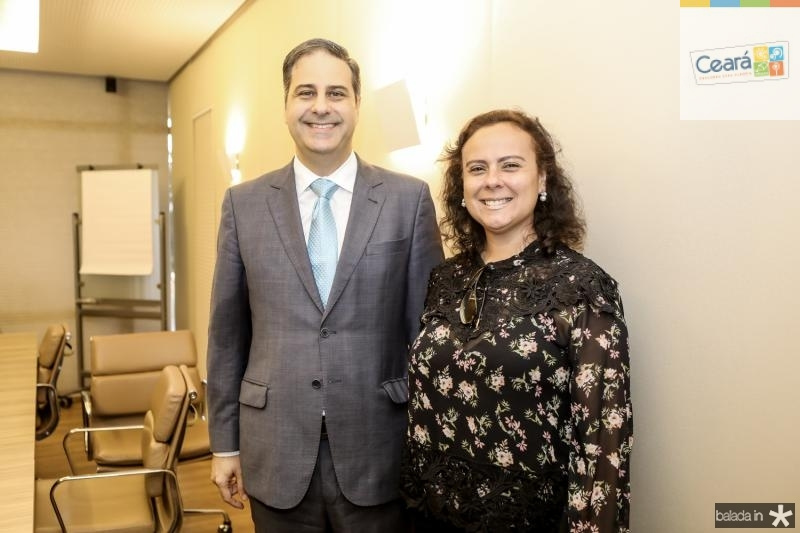 Erinaldo Dantas e Isabela Cecilia
