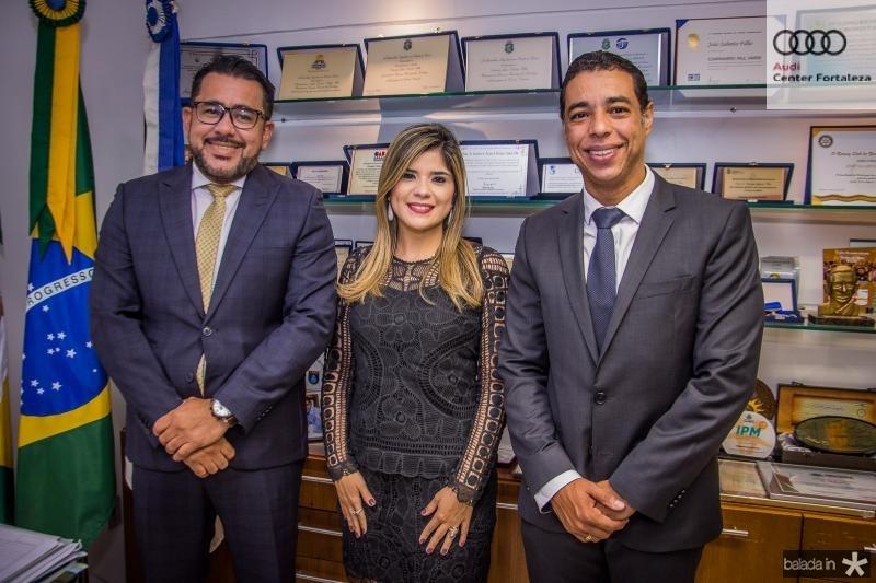 Marcio Martins, Roberta Vasques e Leonardo Araujo