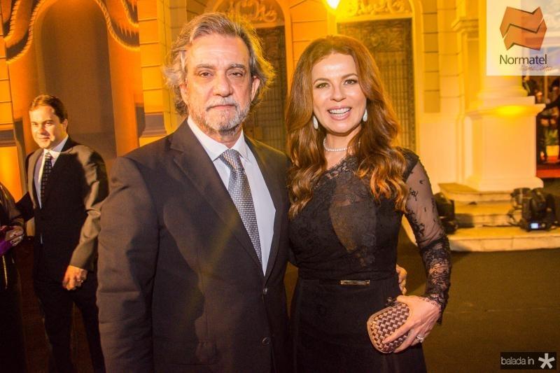 Ernesto Saboia e Claudia Quental