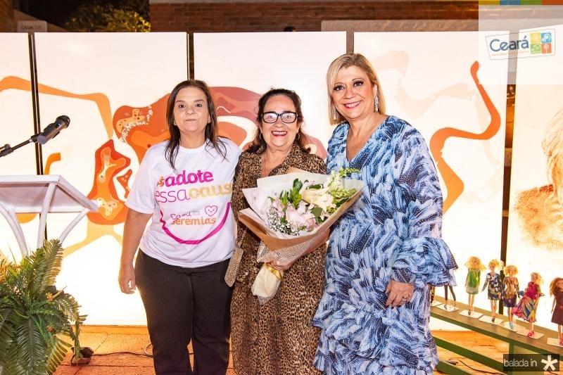 Soraya Palhano, Nereide Figueiredo e Priscila Cavalcante