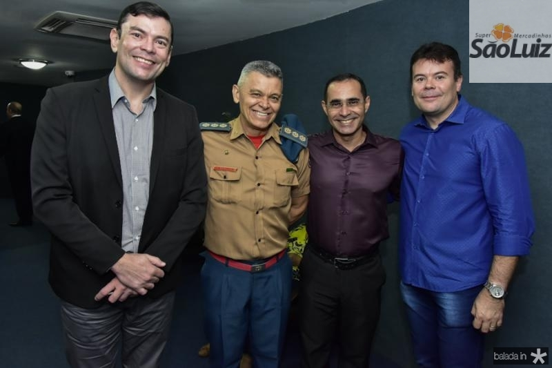 Emerson Bastos, Wiliam Rodrigues, Bernardo Antonio e Adriano Bastos