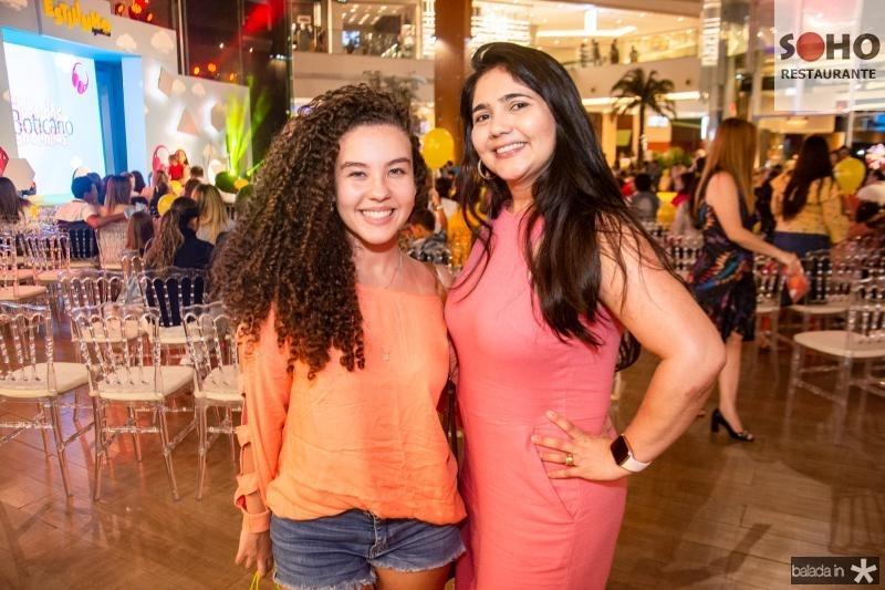 Rebeca Parente e Cintia Torres