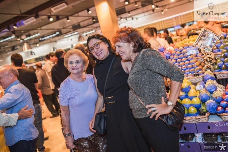 Marlene Cabral, Isabela Ramalho  e Fatiama Duarte