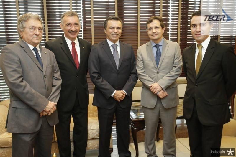 Euvaldo Bringel, Artur Bruno, Juvencio Viana, Edilberto Pontes e Placido Rios