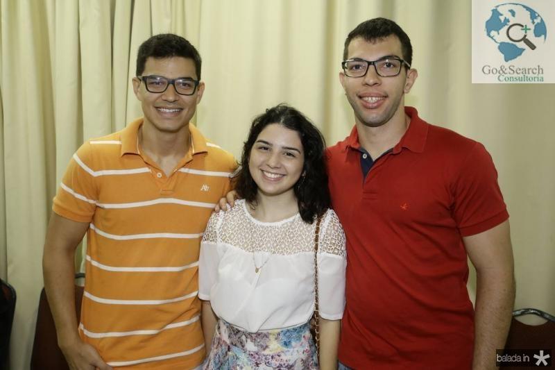 Marcelo Lima, Thaina Milfont e Pedro Henrique Messias