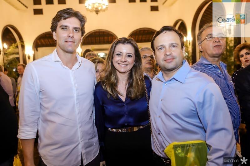 Ruy do Ceara, Emilia Buarque e Igor Barroso