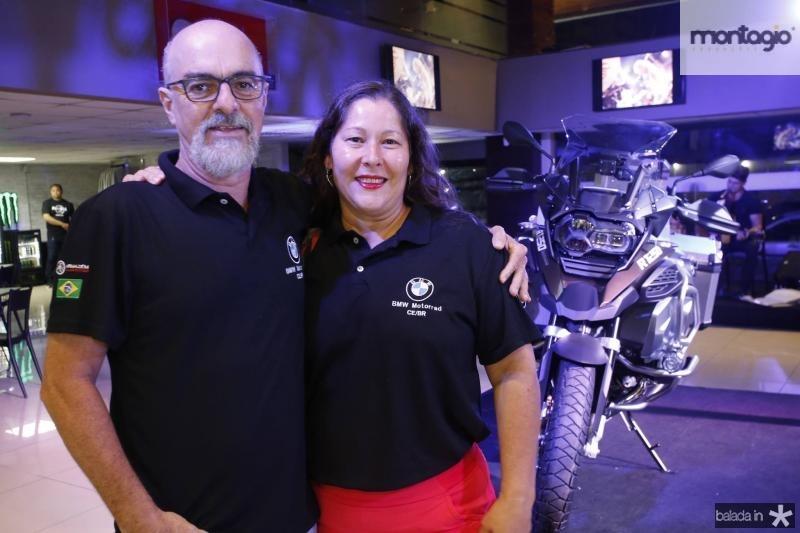 Sergio Brito e Isabel Fernandes